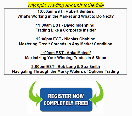 Trading Summit Schedule